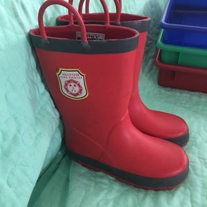 Carters Volunteer Firefighter boots Size 10